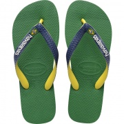 Žabky Havaianas BRASIL MIX GREEN/NAVY BLUE