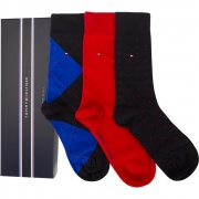 Sada ponožiek 3PACK TOMMY HILFIGER MEN MIXED BOX 085