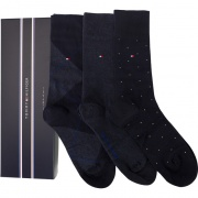 Sada ponožiek 3PACK TOMMY HILFIGER MEN MIXED BOX 322