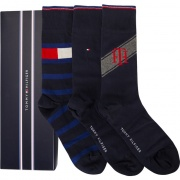 Sada ponožiek 3PACK TOMMY HILFIGER MEN LOGO BOX 085