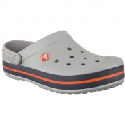 Šľapky CROCS CROCBAND LIGHT GREY NAVY