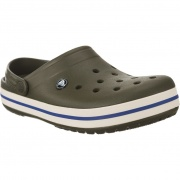 Šľapky CROCS CROCBAND DARK CAMO GREEN STUCCO