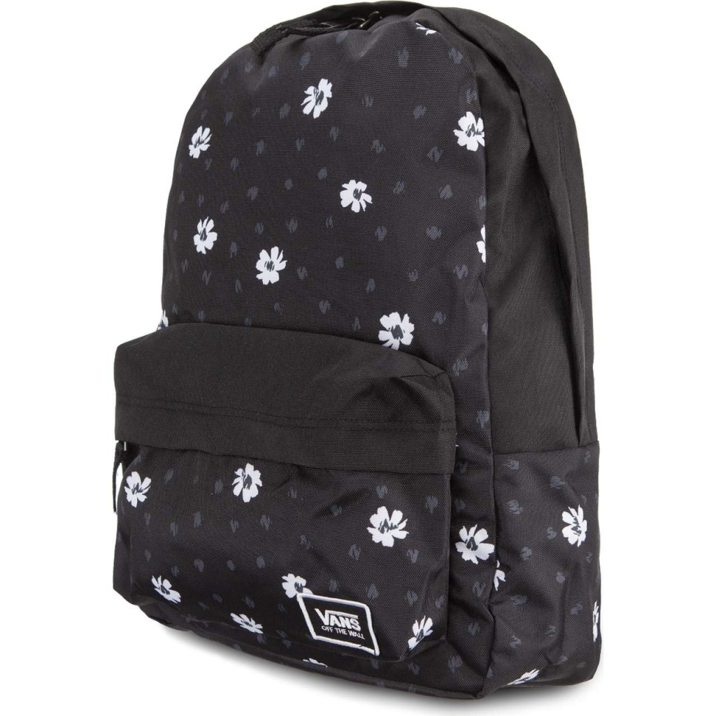 Ruksak VANS REALM CLASSIC BACKPACK BLACK ABSTRACT