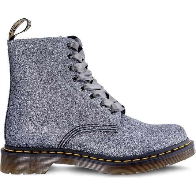 Topánky DR. MARTENS 1460 PASCAL GLITTER PEWTER