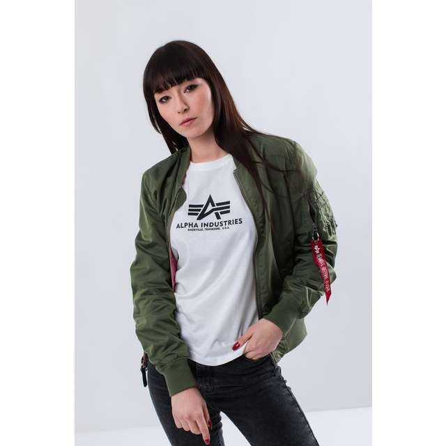 e6eb2917e Dámska bunda ALPHA INDUSTRIES MA-1 TT IP REVERSIBLE WMN 01 ZELENÁ