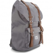 Ruksak HERSCHEL LITTLE AMERICA 00006 GREY/TAN