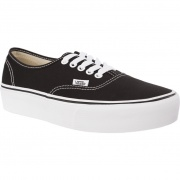 Tenisky VANS AUTHENTIC PLATFORM BLK BLACK