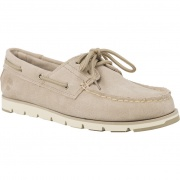 Dámske topánky TIMBERLAND CAMDEN FALLS SUEDE BOAT SHOES SIMPLY TAUPE