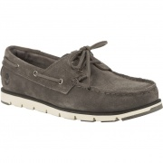 Dámske topánky TIMBERLAND CAMDEN FALLS SUEDE BOAT SHOES GUNMETAL