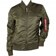 Dámska bunda ALPHA INDUSTRIES MA-1 VF 59 WMN 257 zelená