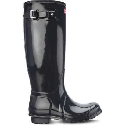 Dámske gumáky HUNTER WOMEN'S ORIGINAL TALL GLOSS DARK SLATE