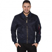 Pánska bunda ALPHA INDUSTRIES CWU LW PM 07 modrá