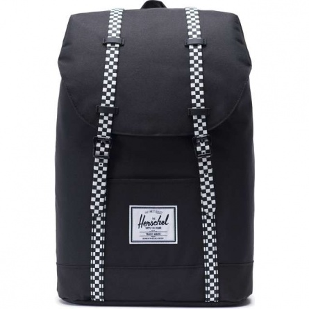 Ruksak HERSCHEL  RETREAT BLACK/CHECKERBOARD