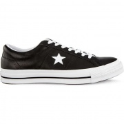 Tenisky CONVERSE  ONE STAR OX C163385 BLACK/WHITE/WHITE