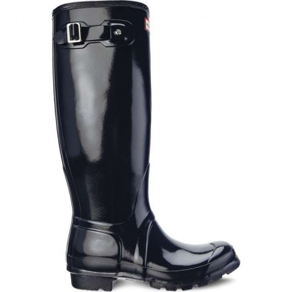 Dámske gumáky HUNTER  WOMEN'S ORIGINAL TALL GLOSS NAVY