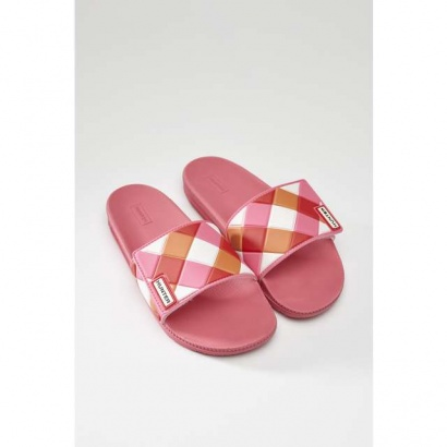 Šľapky HUNTER  WOMENS ORIGINAL ADJUSTABLE SLIDE WEAVE