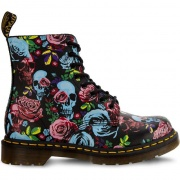 Topánky DR. MARTENS  1460 PASCAL ROSE MULTI ROSE