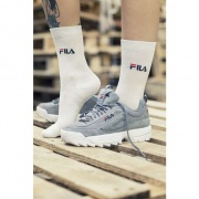 Ponožky FILA NORMAL SOCKS 3 PAIRS 300 WHITE
