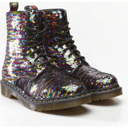 Topánky DR. MARTENS  1460 PASCAL SEQUIN RAINBOW