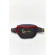Ľadvinka KARL KANI  SIGNATURE WAIST BAG NAVY/YELLOW/RED