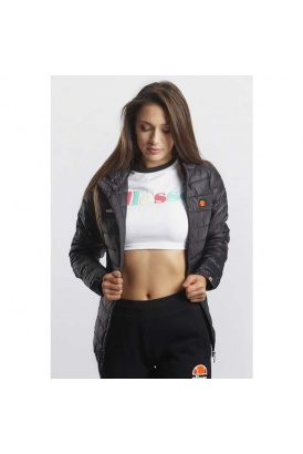Dámska bunda ELLESSE  LOMPARD PADDED JACKET ANTHRACITE