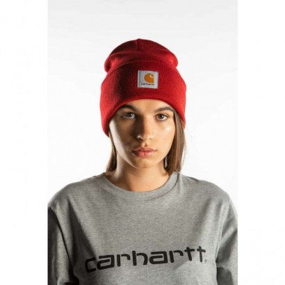 Čiapka CARHARTT WIP  ACRYLIC WATCH HAT LR00 BLAST RED
