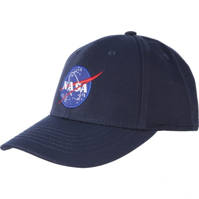 Šiltovka ALPHA INDUSTRIES  NASA CAP 07 BLUE