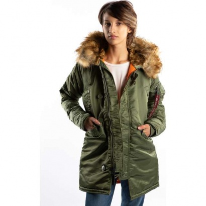 Dámska bunda ALPHA INDUSTRIES  N3B VF 59 WMN 01