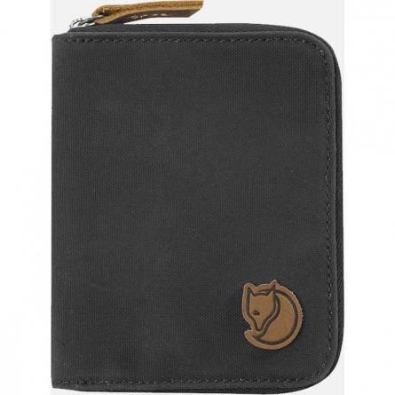 Peňaženka FJALLRAVEN  ZIP WALLET DARK GREY