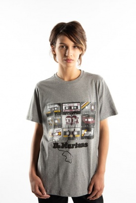 Tričko DR. MARTENS TAPE T-SHIRT 020 GREY