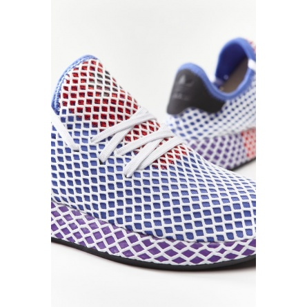 Tenisky ADIDAS  DEERUPT RUNNER W ORANGE/ACTIVE PURPLE