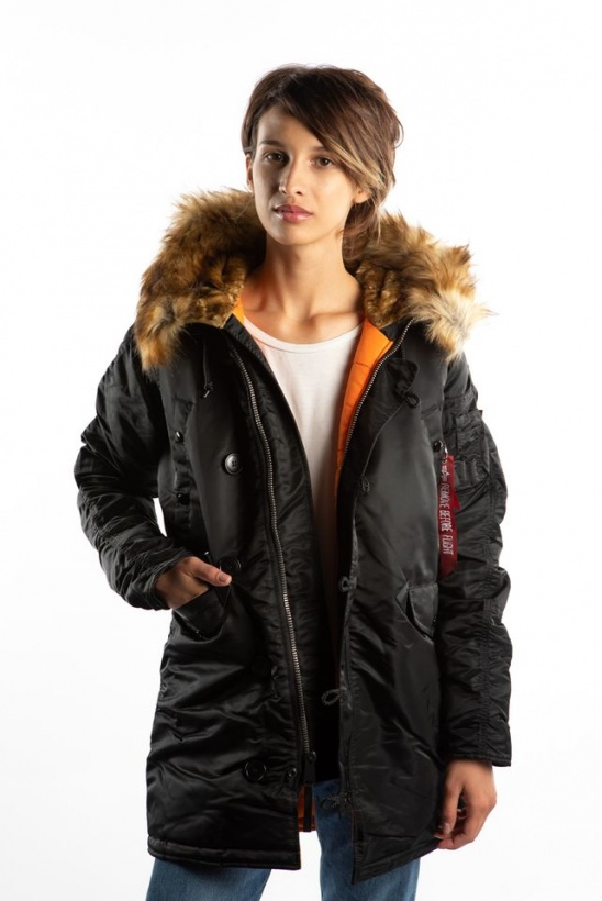 Dámska bunda ALPHA INDUSTRIES  N3B VF 59 WMN 03 BLACK