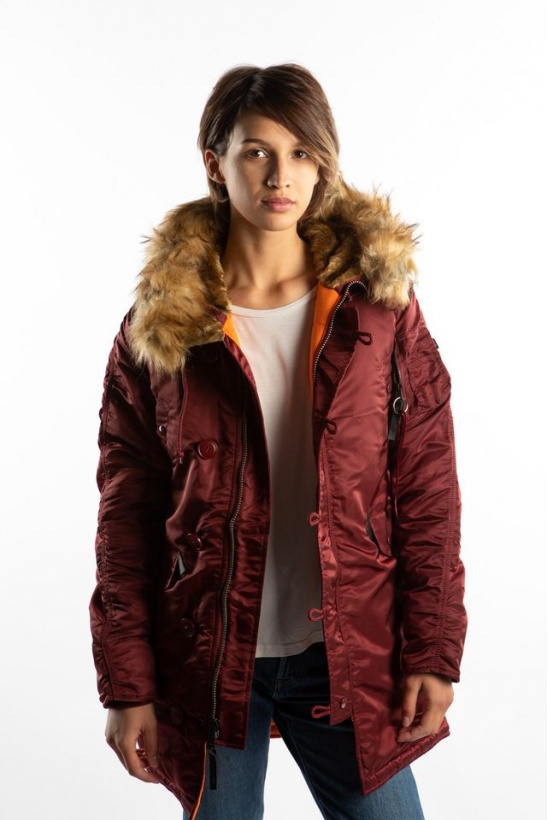 Dámska bunda ALPHA INDUSTRIES  N3B VF 59 WMN 184