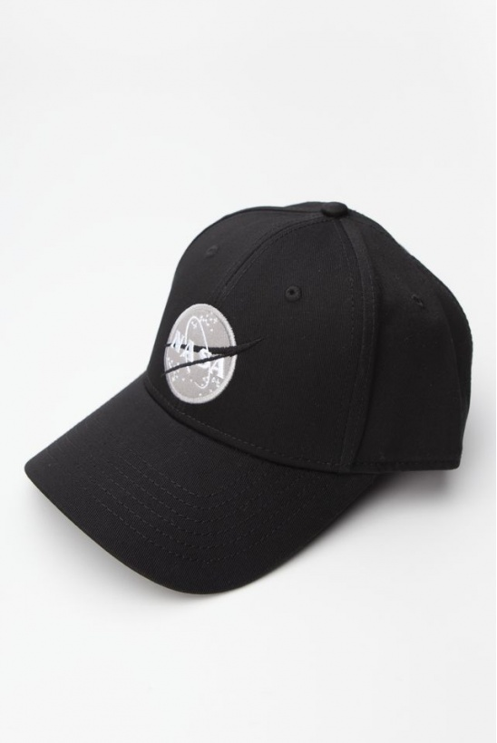 Šiltovka ALPHA INDUSTRIES  NASA CAP 03 BLACK