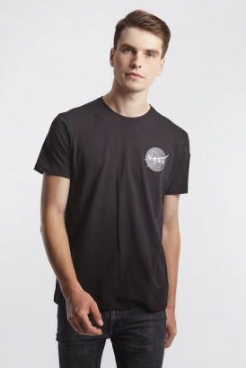 Pánske tričko ALPHA INDUSTRIES  SPACE SHUTTLE T 03 BLACK
