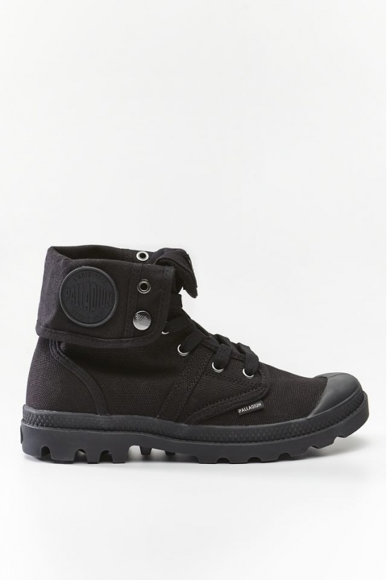 Topánky PALLADIUM  PALLABROUSE BAGGY 001 BLACK