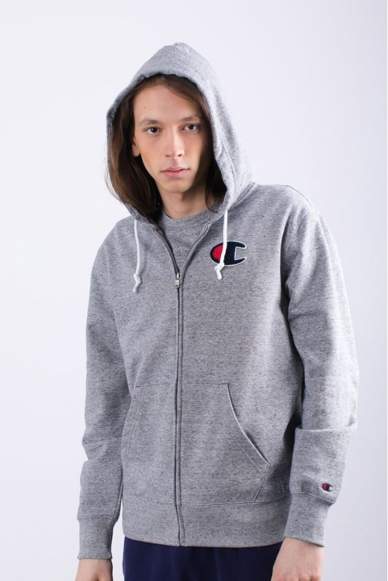 Pánska mikina CHAMPION  HOODED FULL ZIP SWEATSHIRT