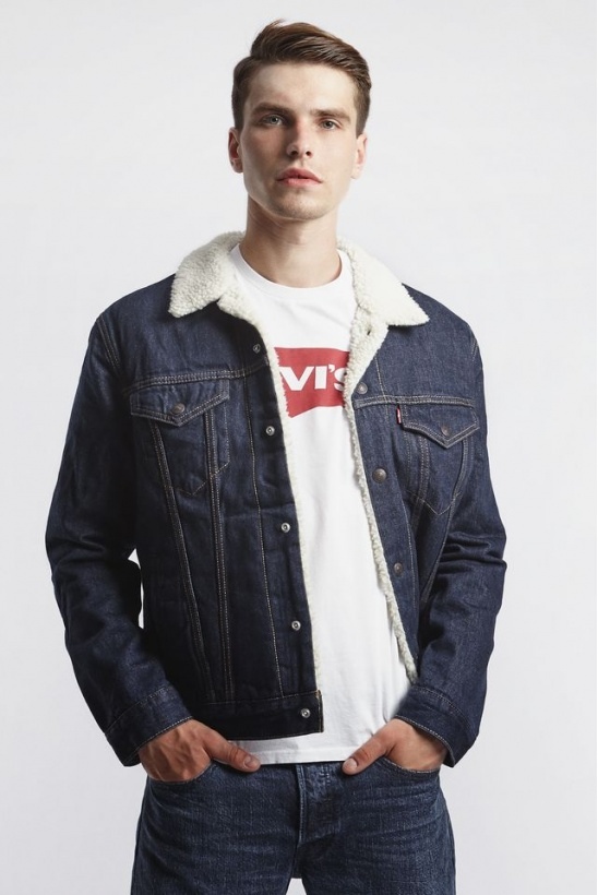 Bunda LEVIS  SHERPA TRUCKER JACKET 0084 ROCKRIDGE