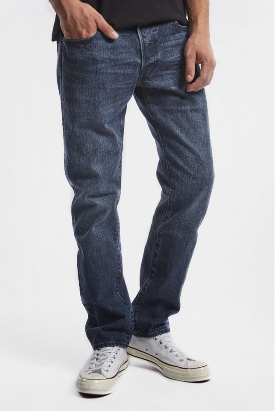 Rifle LEVIS 501 SLIM TAPER JEANS 0165 INDIGO