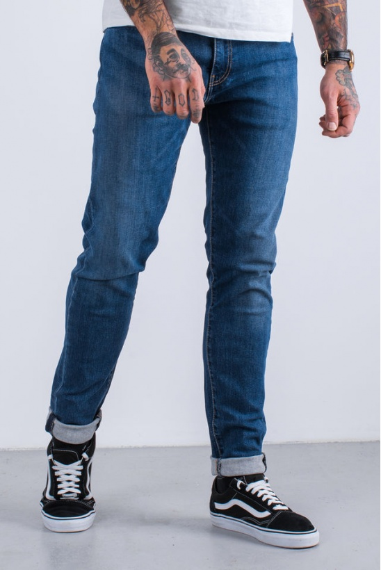 Rifle LEVIS  512 SLIM TAPER FIT JEANS 0244 REVOLT ADV
