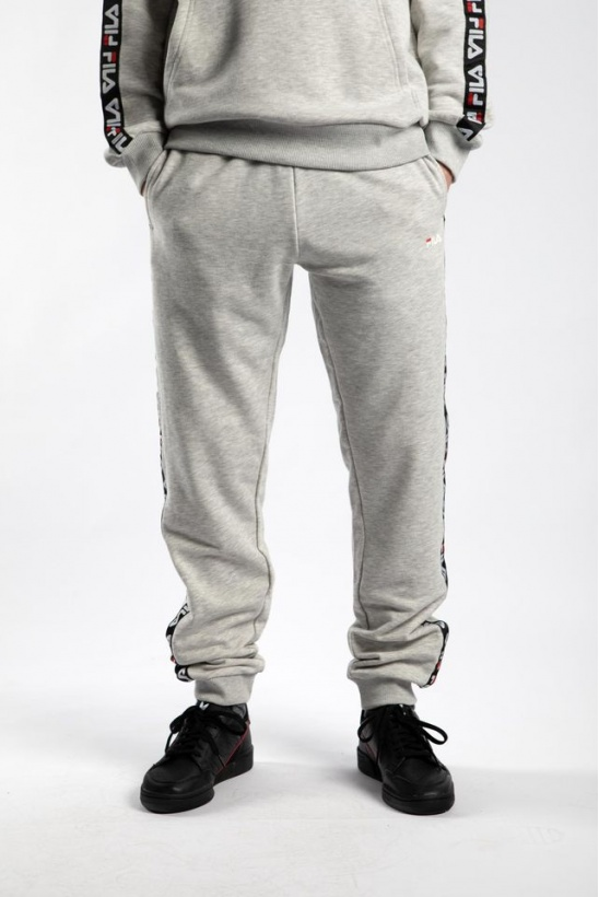 Tepláky FILA TADEO SWEAT PANTS B13 LIGHT GREY