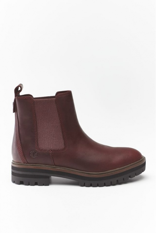 Topánky TIMBERLAND LONDON SQUARE CHELSEA C60 BURGUNDY