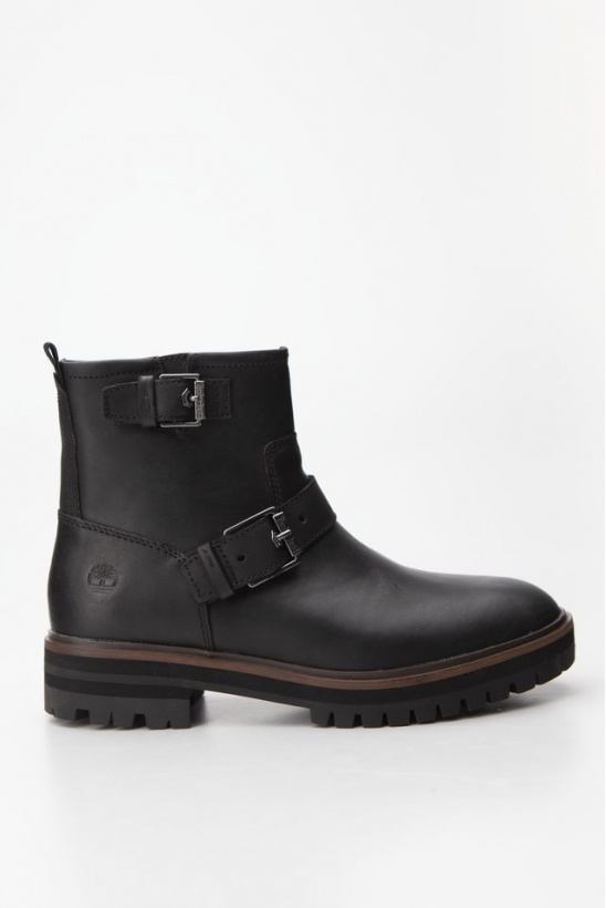 Topánky TIMBERLAND LONDON SQUARE BIKER BOOT 015 BLACK