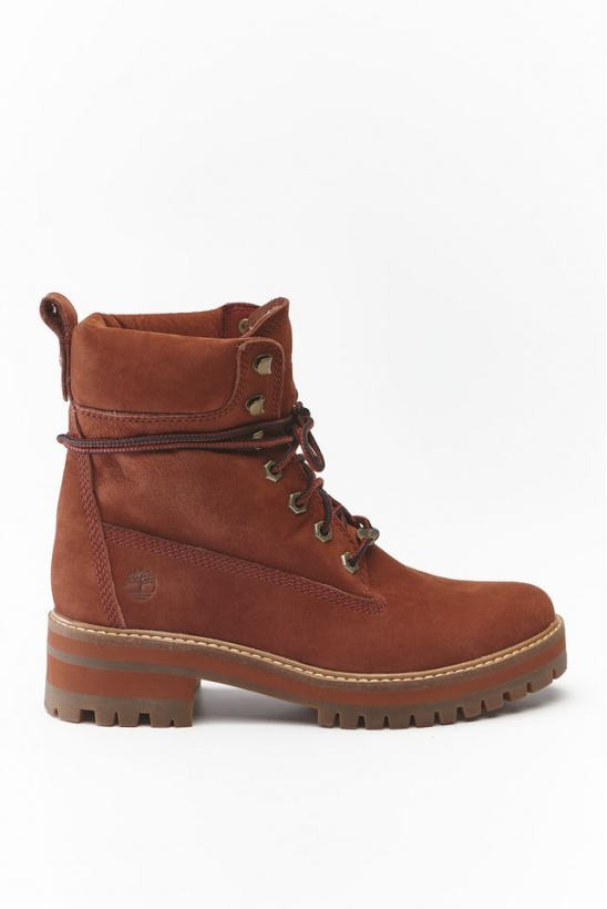 Topánky TIMBERLAND COURMAYEUR VALLEY V17 RUST NUBUCK