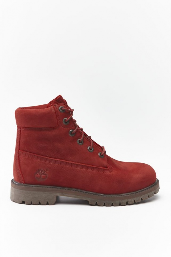 Dámske topánky TIMBERLAND 6 INCH PREMIUM WP BOOT V15 DARK RED