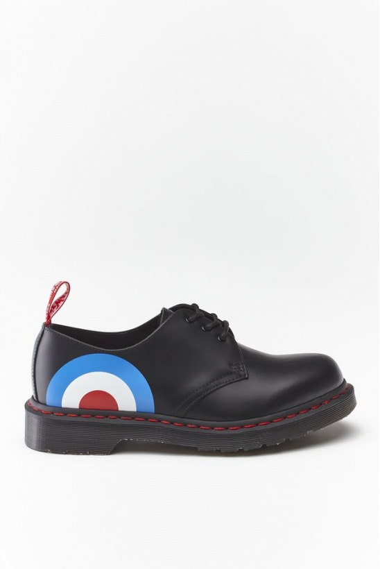 Topánky DR. MARTENS THE WHO 1461 BLACK