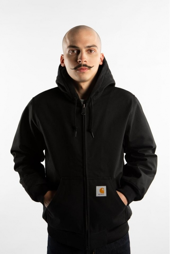 Pánska bunda CARHARTT WIP  ACTIVE JACKET 8900 BLACK