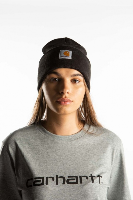 Čiapka CARHARTT WIP  ACRYLIC WATCH HAT BLACK