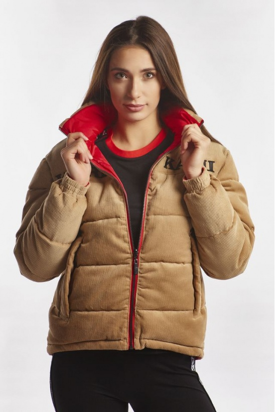 Bunda KARL KANI RETRO REVERSIBLE CORD PUFFER JACKET 167