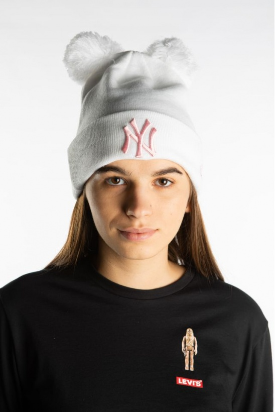 Čiapka NEW ERA DOUBLE BOBBLE 644 WHITE